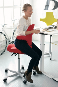 The Benefits Of Saddle Chairs Capisco Chair Ergonomic Chair Office Chair