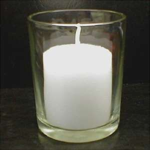 how to clean candle wax off glass