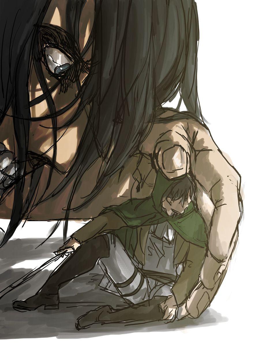 "stranglerfigg ""進撃log13 ちるちる春ラ52b "" Attack on titan"