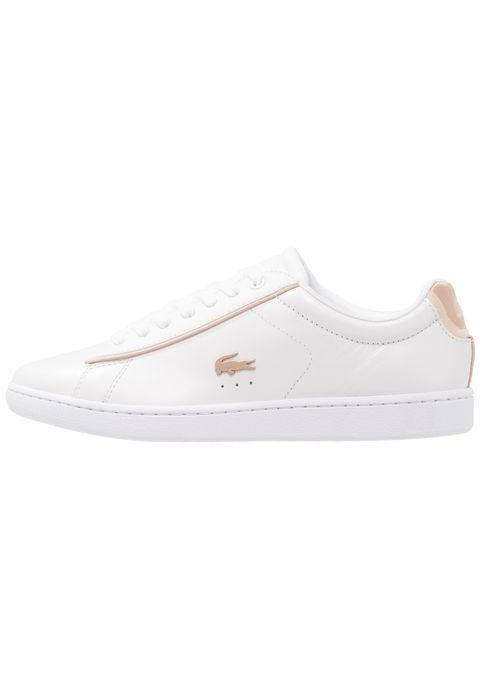 Lacoste CARNABY EVO 118 6 SPW - Trainers - white/gold 2TIIIhMV