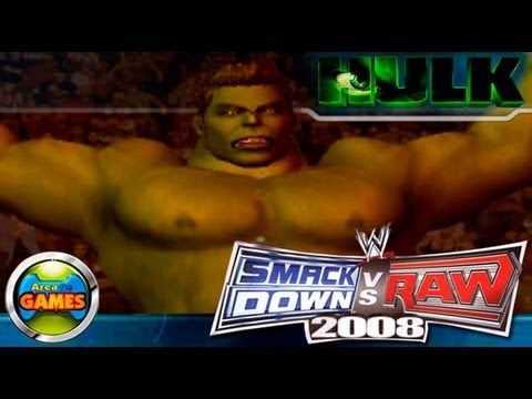 Eaê galerinha tudo bem com vocês, estarei mostrando neste vídeo o meu primeiro personagem criado no Smackdown vs Raw 2008 o Incrivel Hulk. ★ Canal Youtube: https://www.youtube.com/AreadeGames1