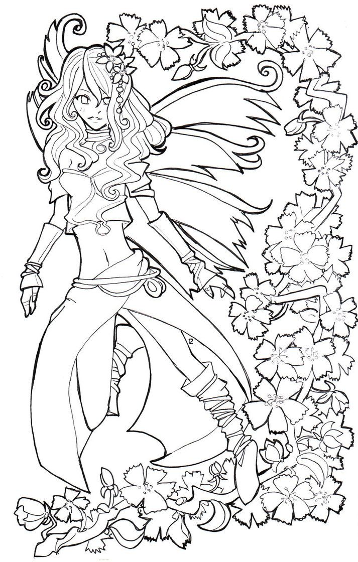 Spring is here....lineart by Namtia on deviantART (With ...