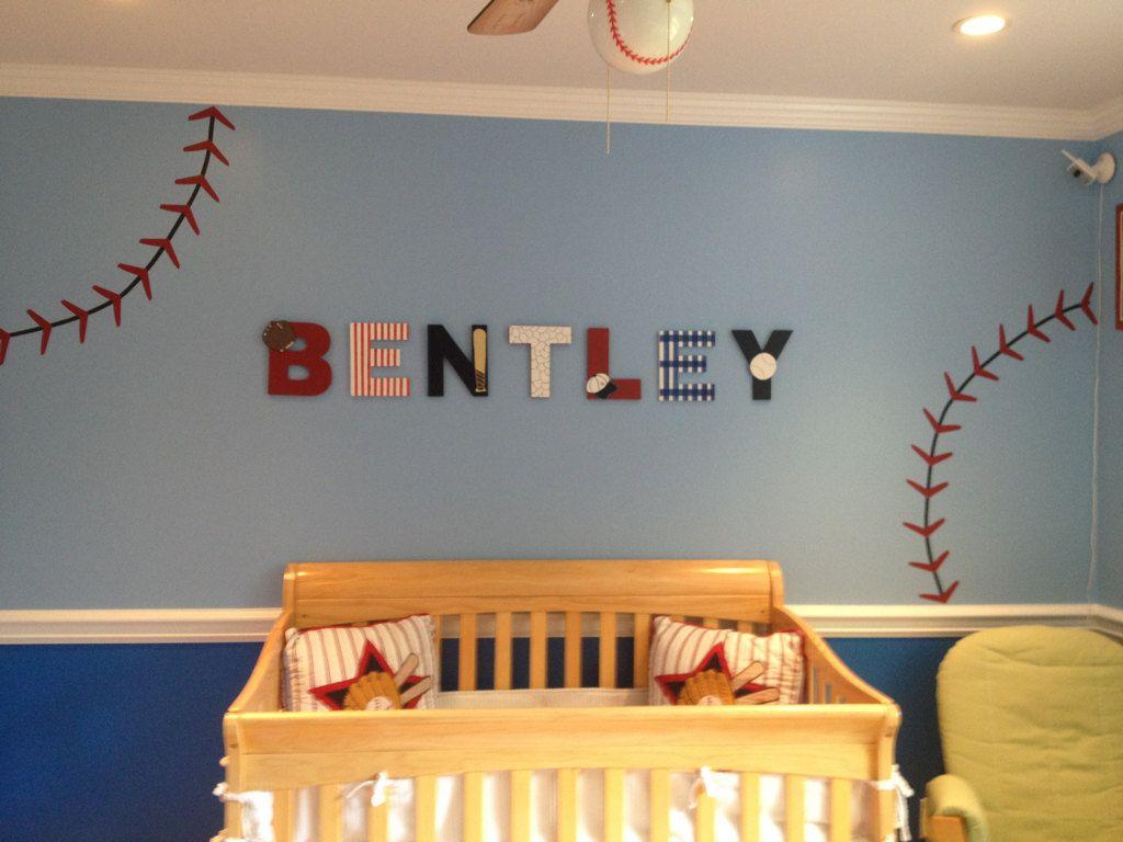 Baby Boy Baseball Room