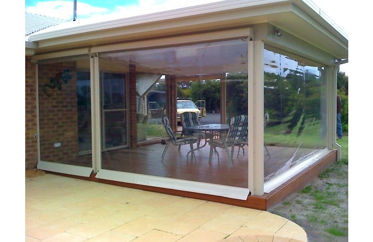 Ziptrak Clear Pvc Or Screen Blinds Outdoor Blinds Outdoor Awnings Patio Blinds