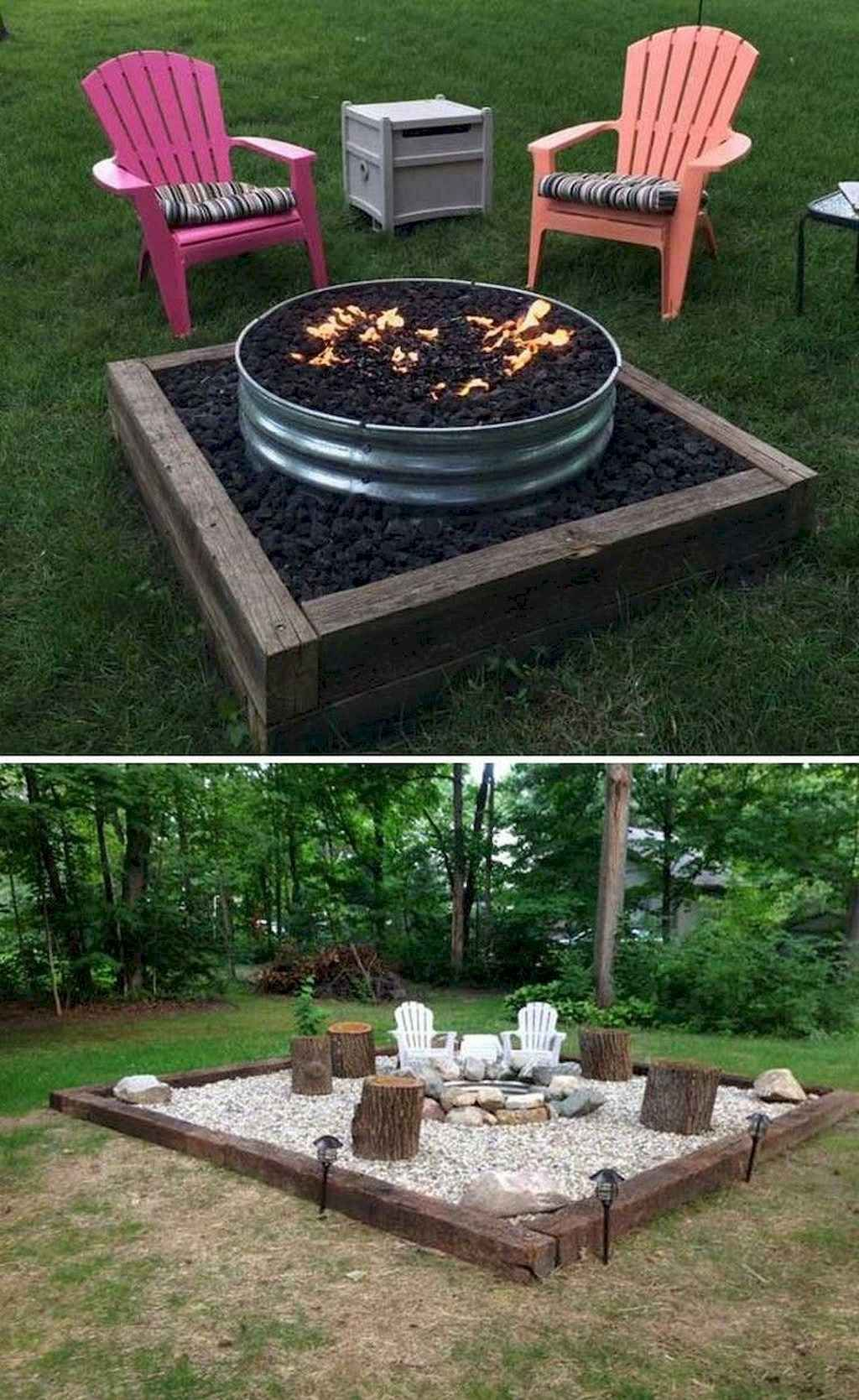 50 cozy backyard seating area ideas gladecor com on backyard fire pit landscaping id=91521