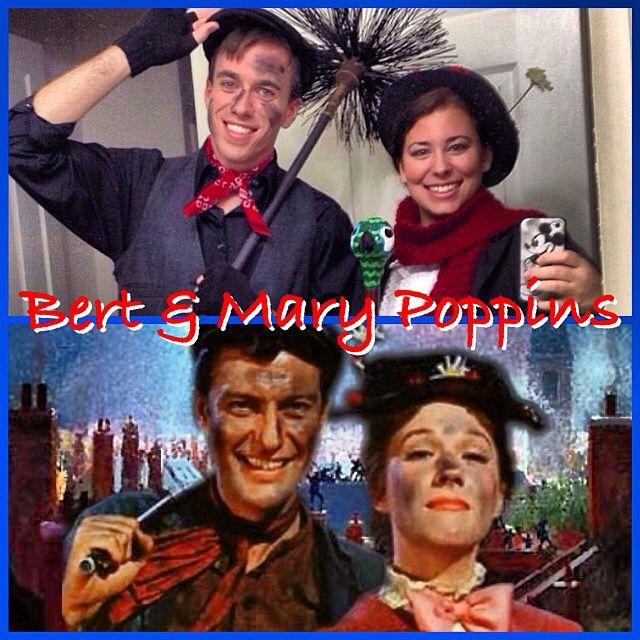Our Halloween Costumes 2013 Mary Poppins and Bert Jon  Payton\u0027s - mens halloween costume ideas 2013