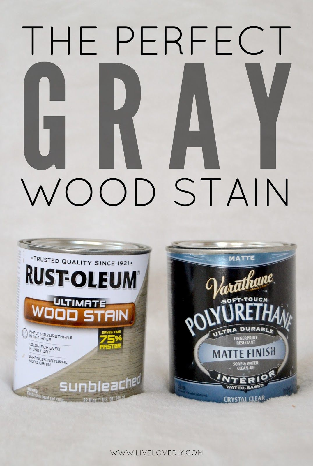 How To Get The Perfect Weathered Gray Wood Using Rustoleum