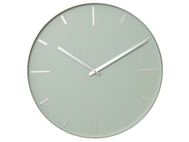 Horloge 40 Cm Belt Coloris Vert Vente De Horloge Conforama