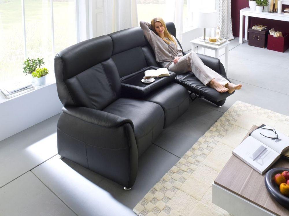 taavi relaxer 3 er sofa echtleder schwarz 3 sitzer. Black Bedroom Furniture Sets. Home Design Ideas