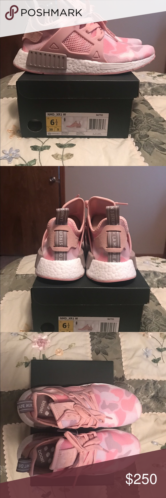 d5c0a2d899afe Adidas NMD XR1 - Pink Duck Camo These shoes are Brand New In The Box ...