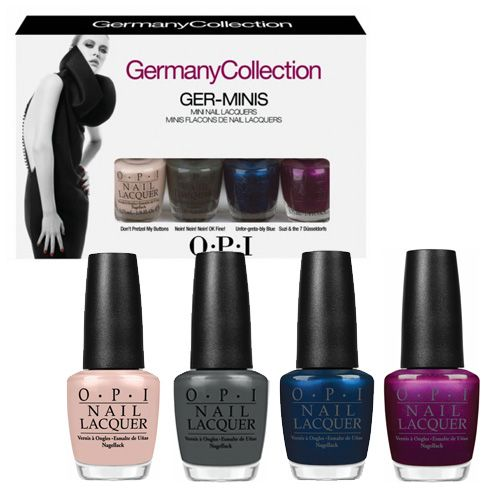 OH MY GOD LUSH!!! OPI Ger Minis Mini Collection   Nails   BeautyBay.com