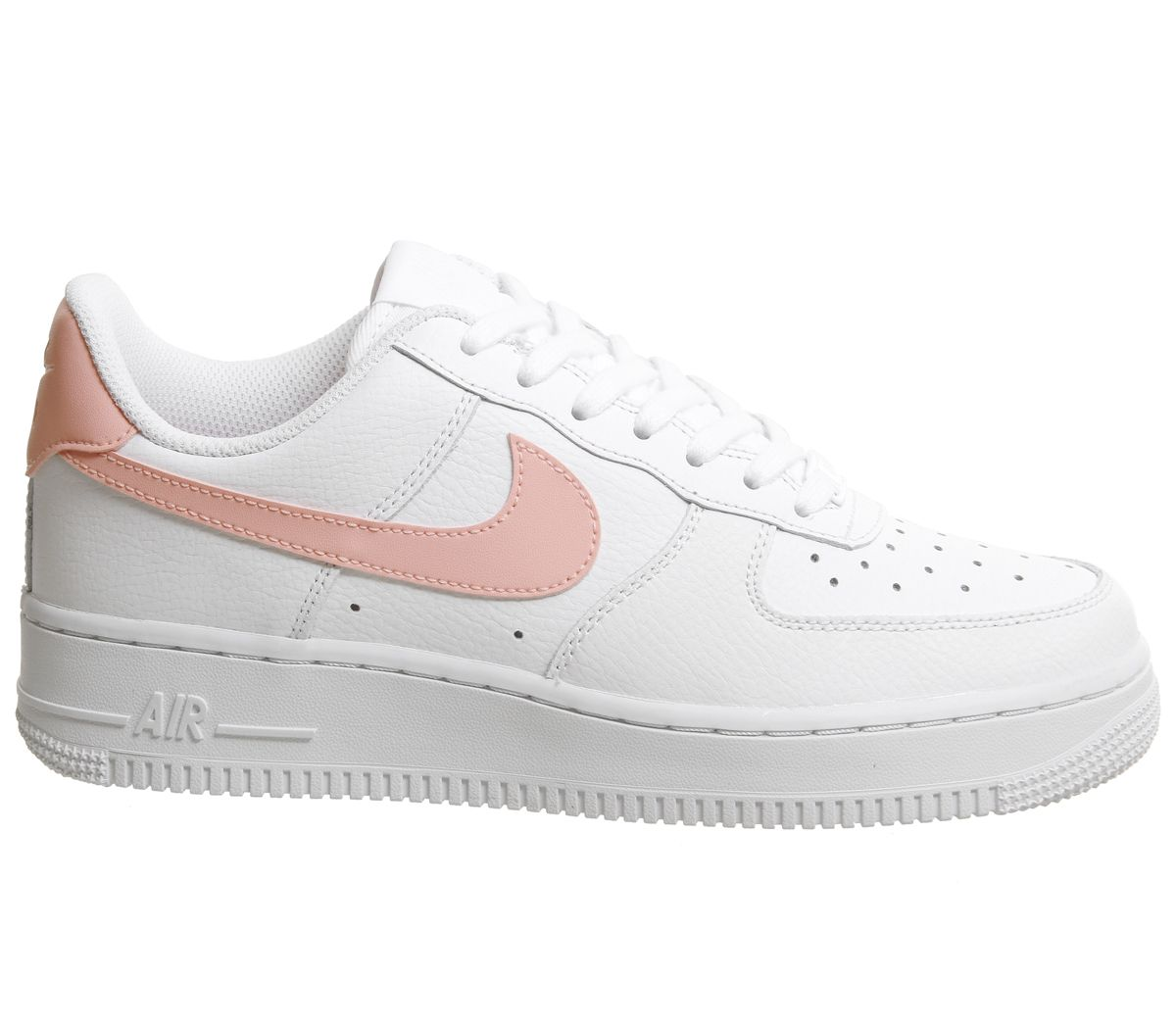pretty nice cf4f3 aaf3f The new Nike Air Force 1 07 Patent White Oracle Pink womens shoe is is one  of the top Nike releases of the summer in 2018.
