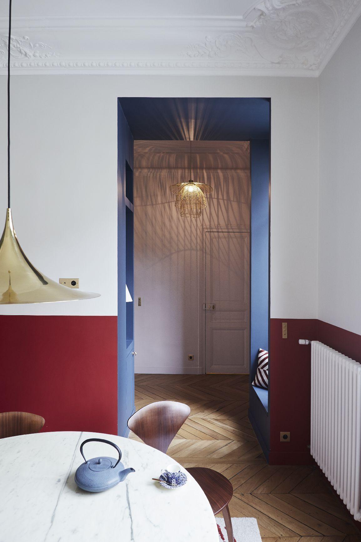 Gcg Architectes cuisine appartement parisien de 150m2 gcg architectes etoile