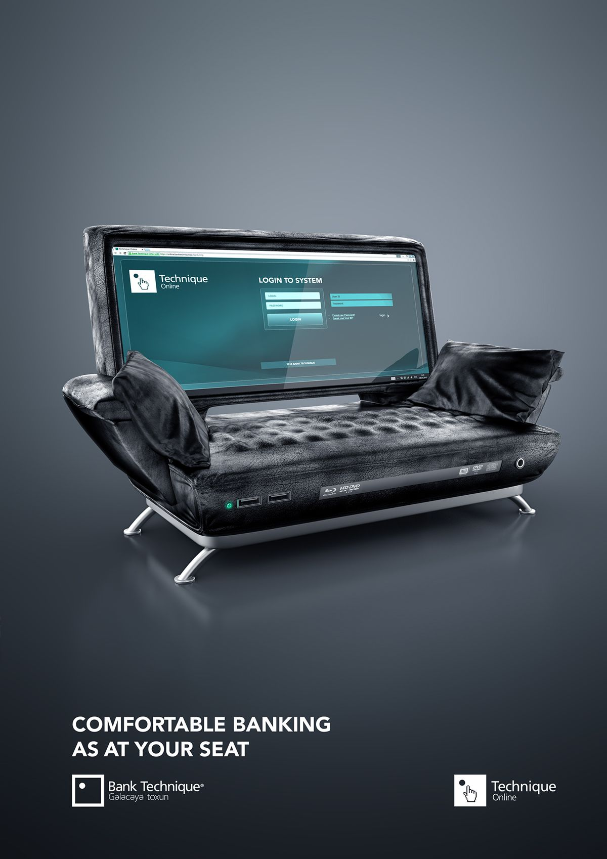 Online Banking AD on Behance | Banks ads, Banks ...