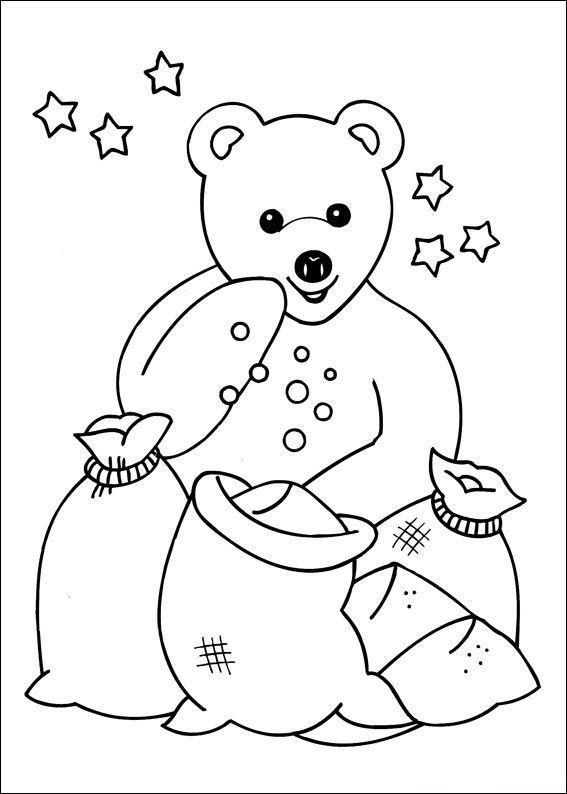nounours 4 ausmalbilder für kinder malvorlagen zum