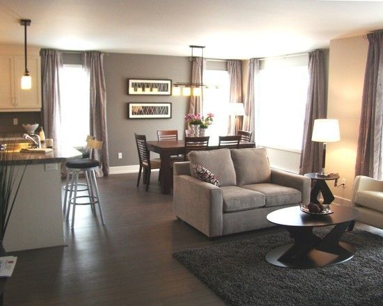 Best Furniture Choices For A Combined Living Room With A Dining Room In Open Concept Kitchen Living Room Living Room Dining Room Combo Open Concept Living Room