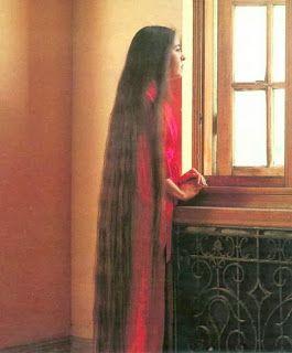 I like her long hair thick redbone
