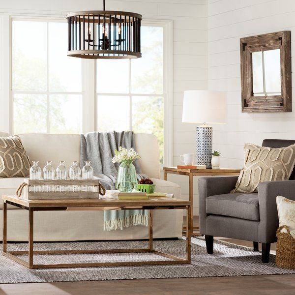 Laurel Foundry Modern Farmhouse Living Room Zion Star