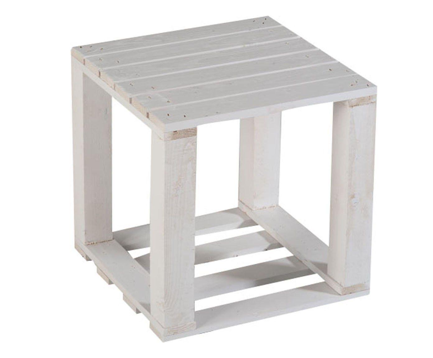 Pallet tavolino ~ Castagnetti pallet tavolino comodino legno abete bianco