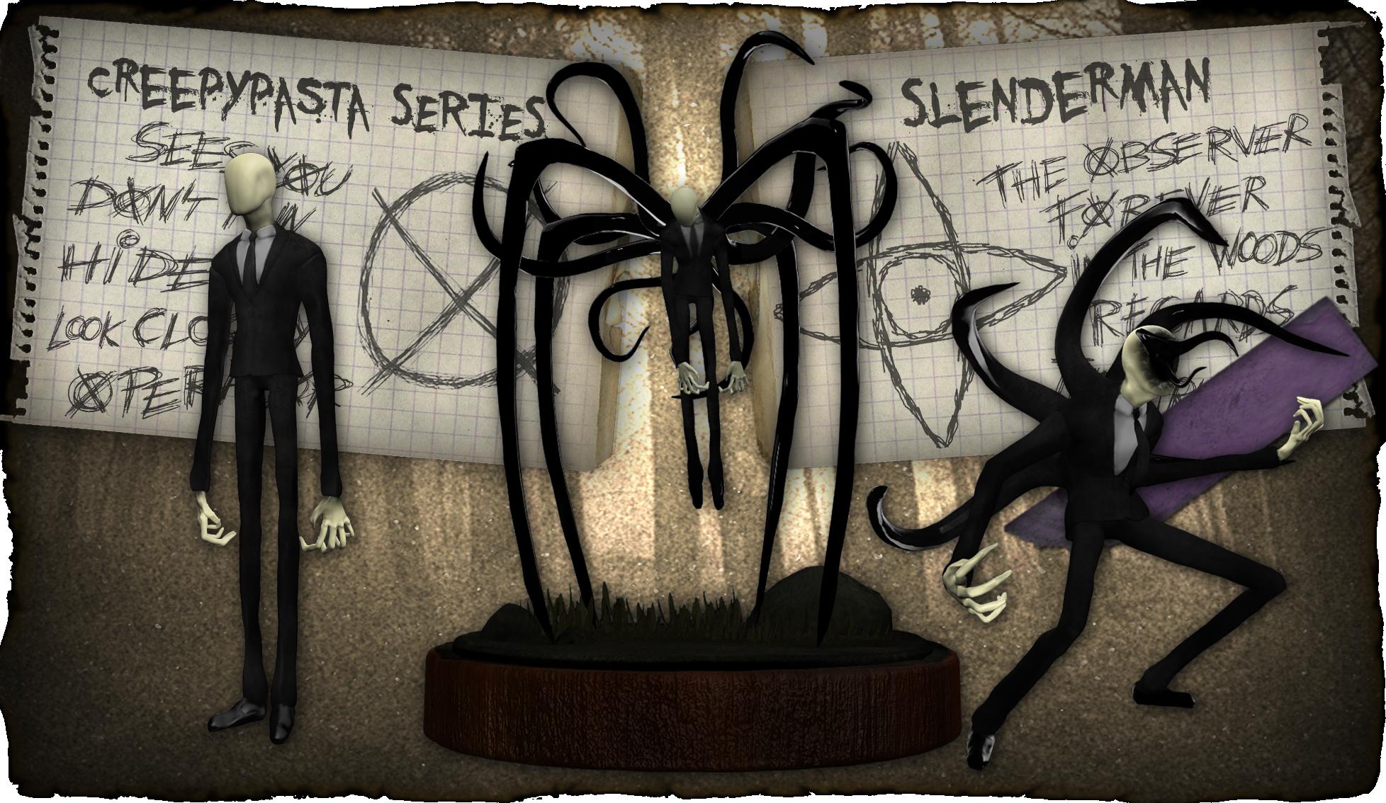Resultado de imagem para Creepypastas slenderman