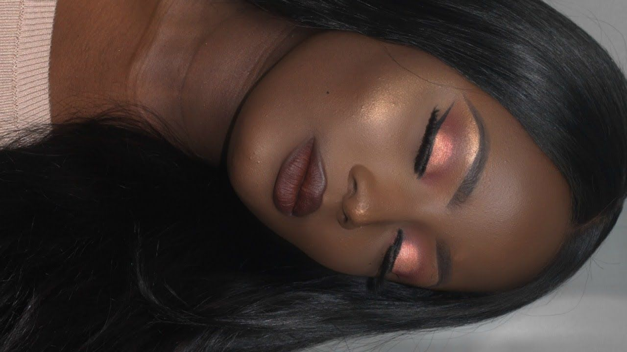 FALL/AUTUMN MAKEUP FOR BROWN/DARK SKIN | GET TO KNOW ME | INSECURITIES | RELATIONSHIPS
