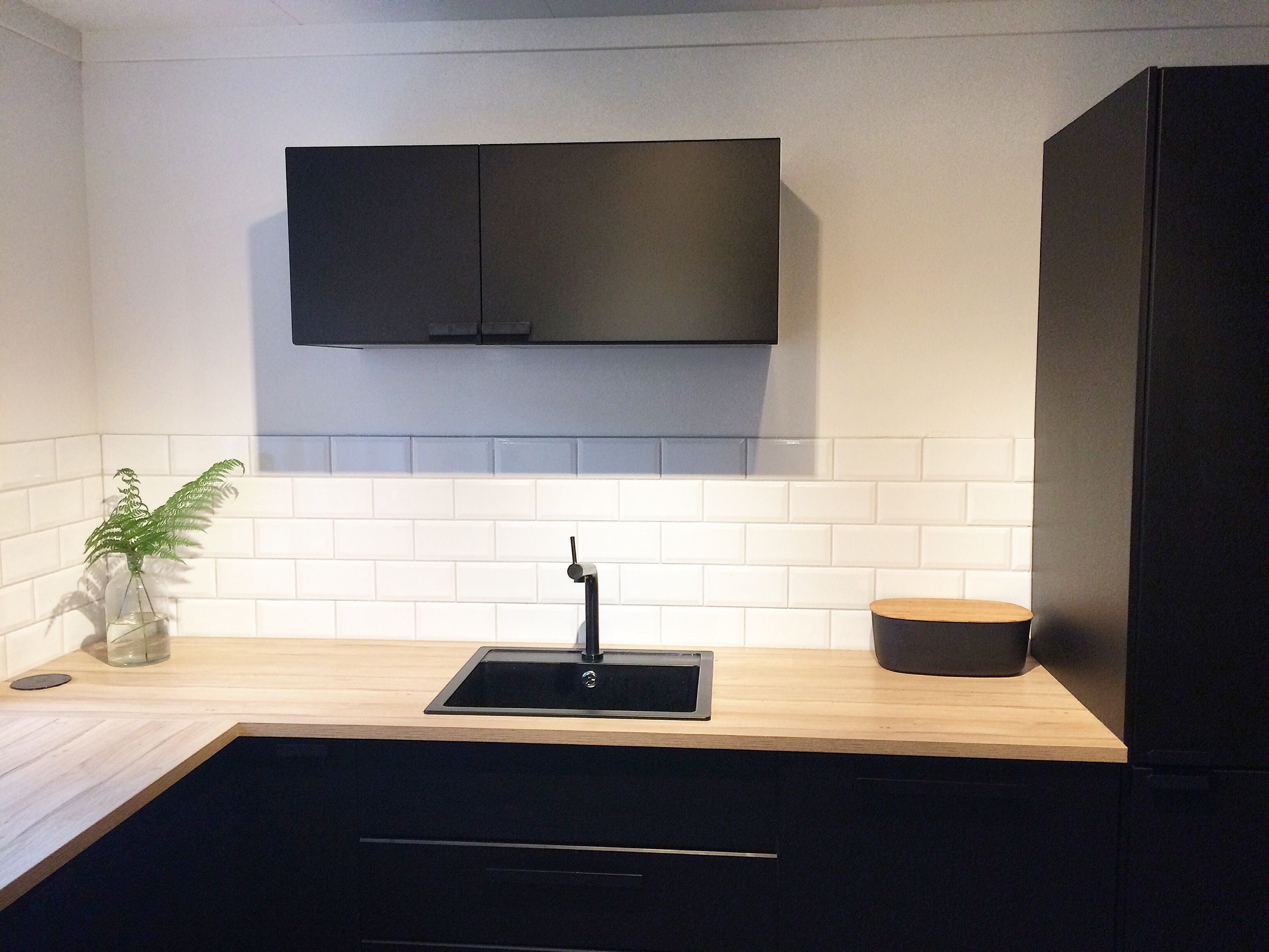 Ikea kungsbacka cuisine pinterest kitchens black for Cuisine kungsbacka