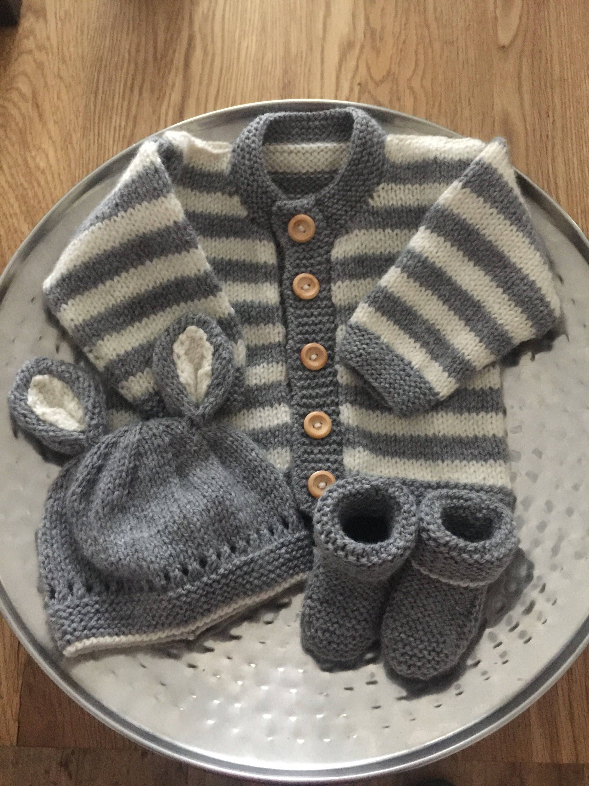 644e99f9b Excited to share this item from my  etsy shop  Hand knitted baby boy ...