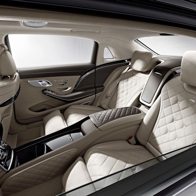 Mercedes Benz S600 Interior Sophisticated Luxury Blog