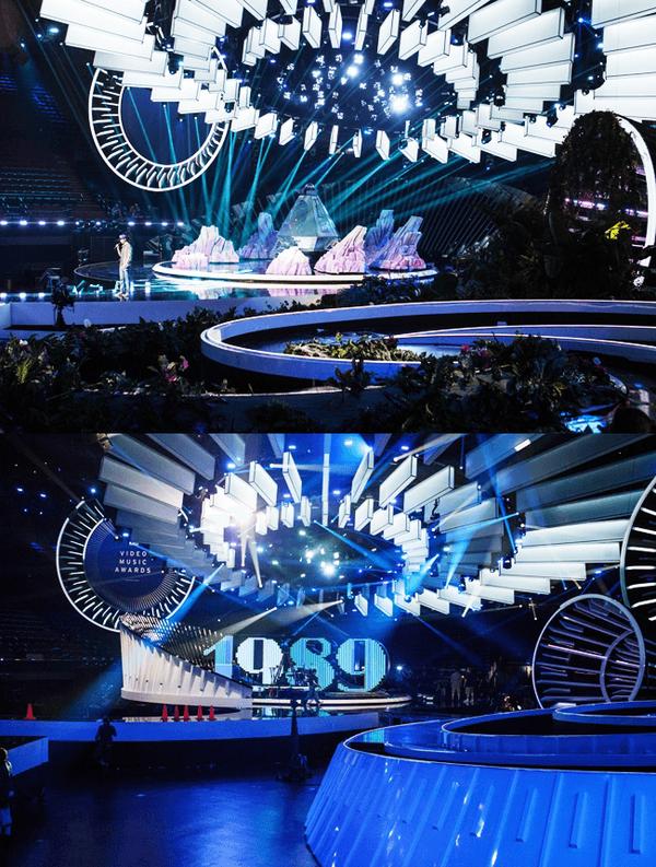 MTV VMA's Stage 2014