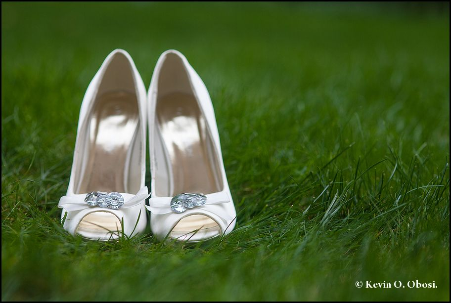 TOPE & SEGUN.....Bridal Shoe.