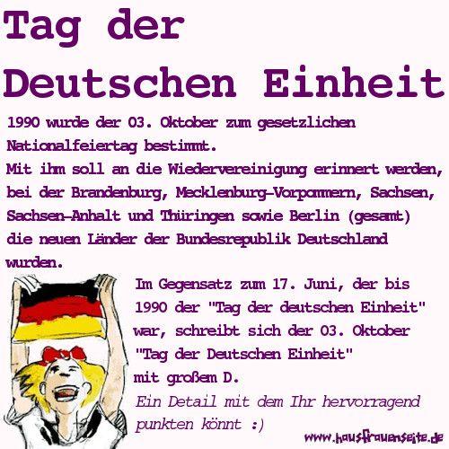 03 Oktober Tag Der Deutschen Einheit Warum Dies Ein