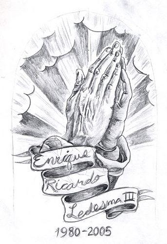 Memorial Mom Cross And Praying Hands Tattoos Photo 4 Hand Tattoos Praying Hands Tattoo Praying Hands Tattoo Design