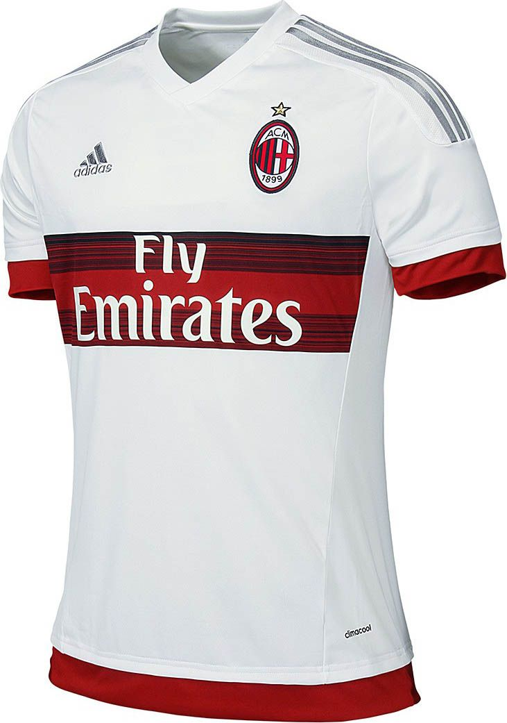 18db4c4850fb2 AC Milan (Italy) - 2015 2016 Adidas Away Shirt