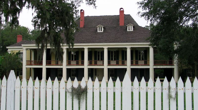 Oldest documented home in lower mississippi valley: destrehan
