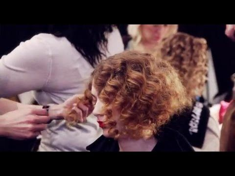 Backstage Bumble & bumble hair how-to #NYFW #HowTo