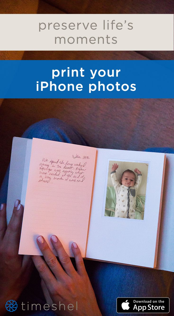 The perfect way to hold on to your favorite moments. The