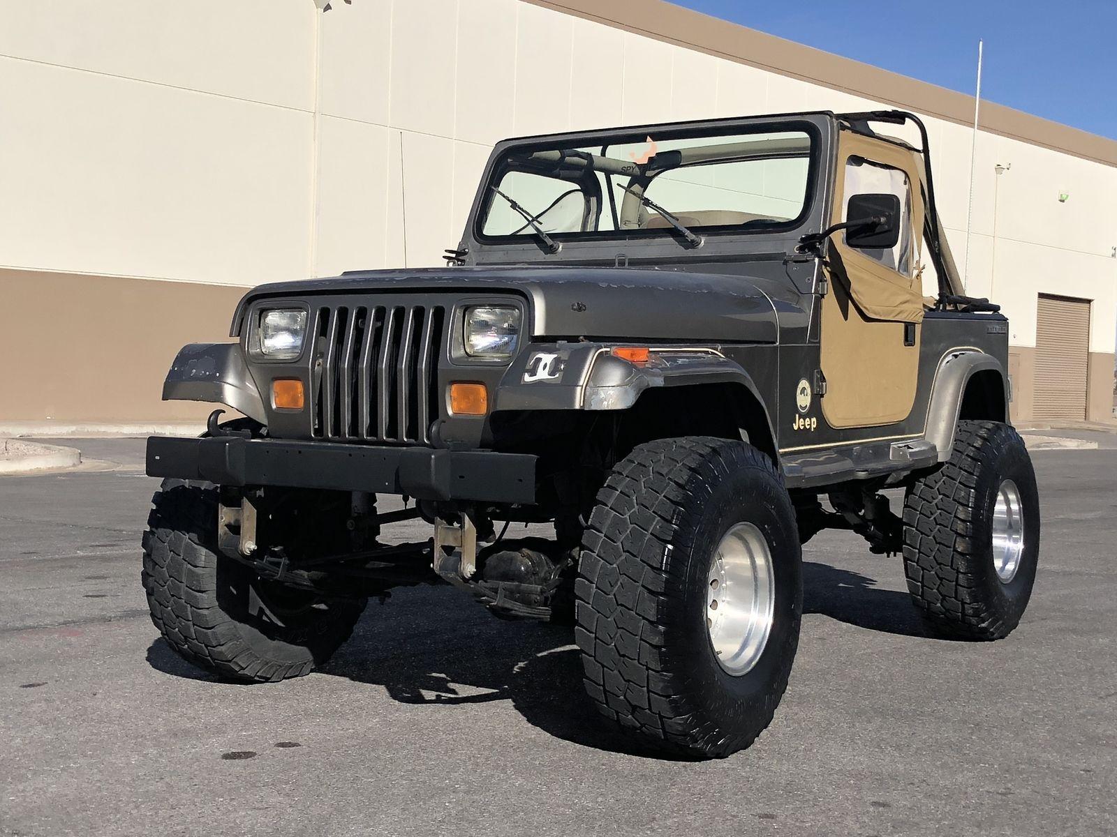 eBay 1989 Jeep Wrangler Sahara Sport Utility 2Door 4x4