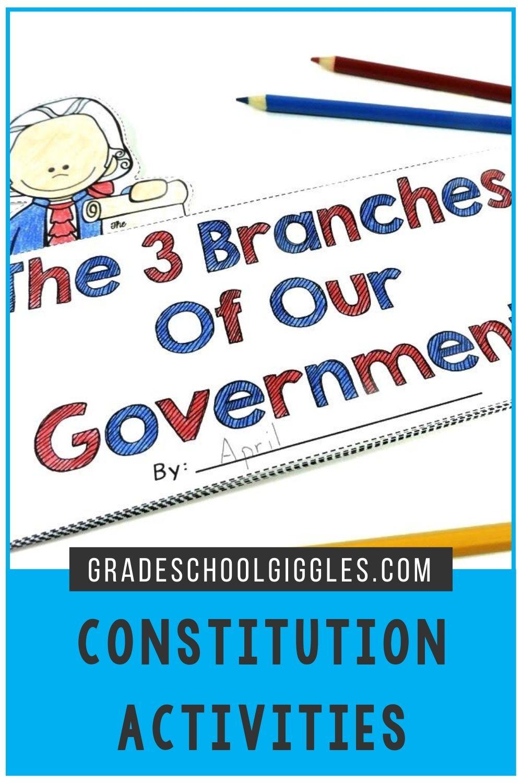 Constitution Activities For Kids Third Grade Activities Constitution Activities Elementary Learning [ 1500 x 1000 Pixel ]