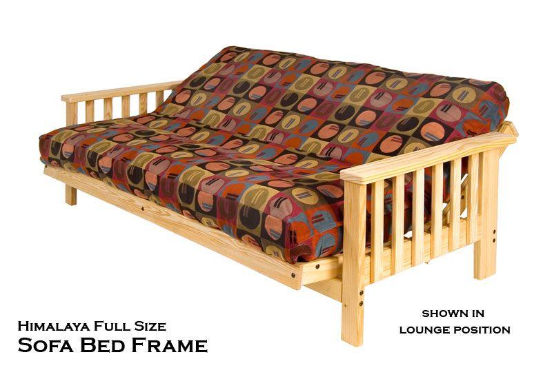 Himalaya Full Size Futon Sofa Bed Frame