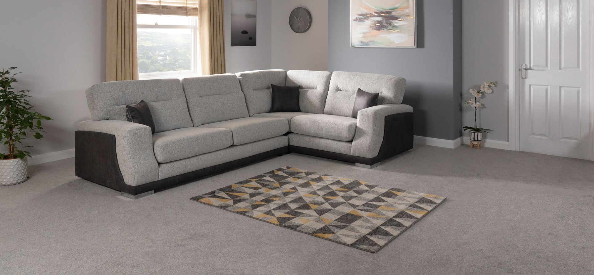 Delphi 2 Corner 1 Standard Back Scs Flooring Shops Sofa Shop Living Room Storage