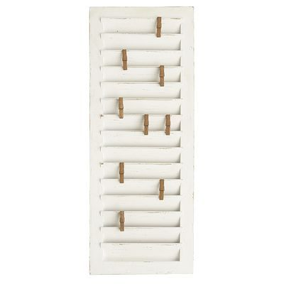 Window Shutter Photo Clip Frame | Window, Laundry rooms and Laundry