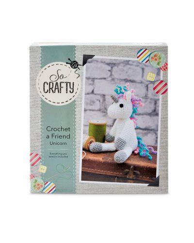 ed99a029ae1 So Crafty Crochet Unicorn Kit - Aldi UK
