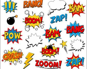 8 letter word booms superheld m 228 dchen clipart comic book clip comic 10404