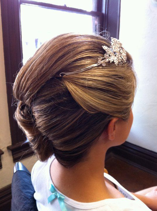 Wedding hair by Kelly <3