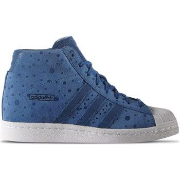 Baskets montantes adidas Originals Superstar UP Blanc-Bleu 116.86 €