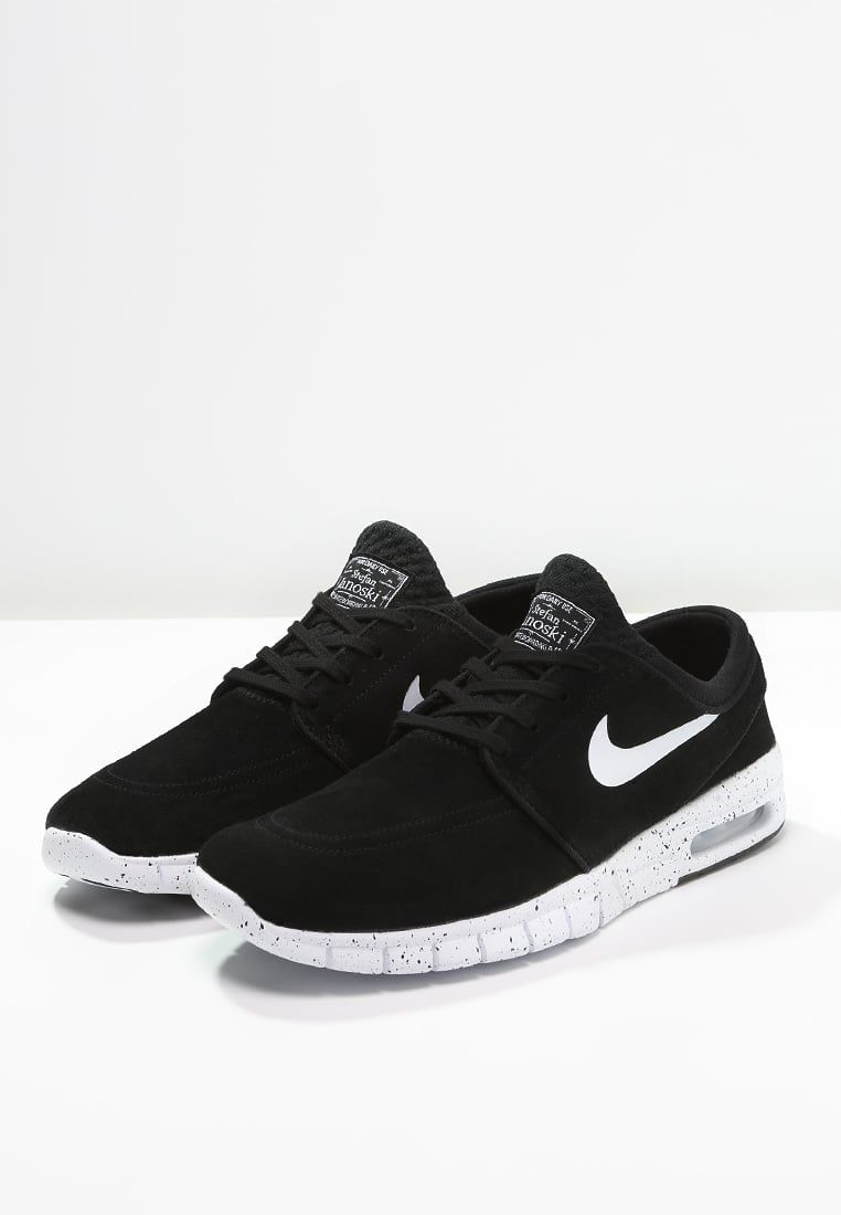 Nike Stefan Janoski Perrito Blanco Y Negro Máximo