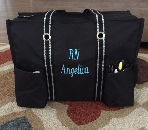 Need A Nursing Bag To Hold Your Supplies This Thirty One Zip Top Organizing Utility Tote Has Seven Exterior Pocket Two Mesh Add You Personal Touch With