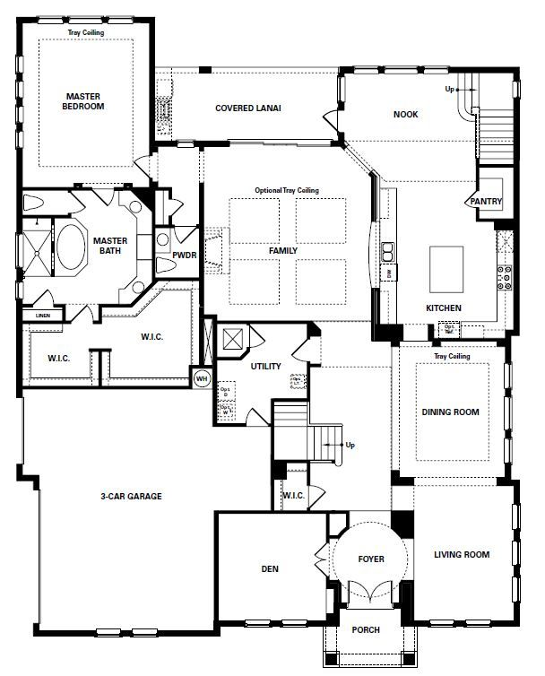 Treviso floor plan 1 perfect floor plan for future house for Story about future plans