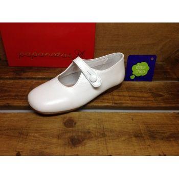 dafab5edf Merceditas Blanco Papanatas  zapatos  Papanatas
