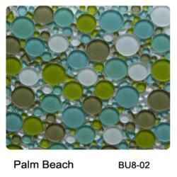 Raffi Gl Bubbles Mosaic Tile